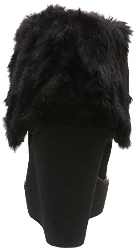 Suede Black 415 01 Lined Women's Bootees Shaft Buffalo Short Black Warm 1875 Boots and Cow TtWwnRS