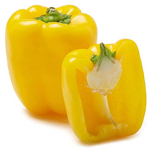 Organic Yellow Bell Pepper, One Medium