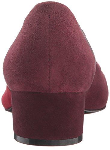 Bernardo Womens Roxanne Dress Pump Carboncino / Rosso / Bordeaux