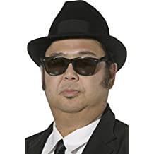 Blues Brothers Men's Fedora Hat Male One Size 30380