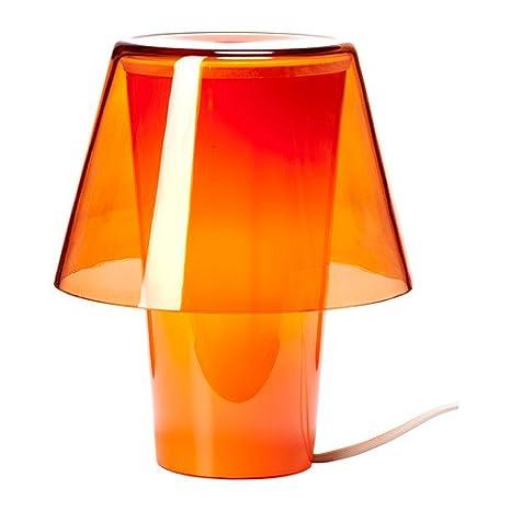 IKEA GAVIK - Lámpara de Mesa, Frost Cristal, 21 cm de Altura ...