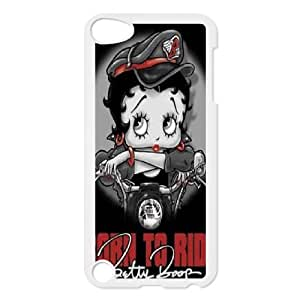 Good Quality Phone Case With HD Betty Boop Images On The Back , Perfectly Fit To iPod Touch 5