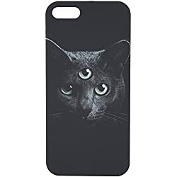 CRSHR Cat Third Eye iPhone 5 5S 5SE Phone Case in Black.