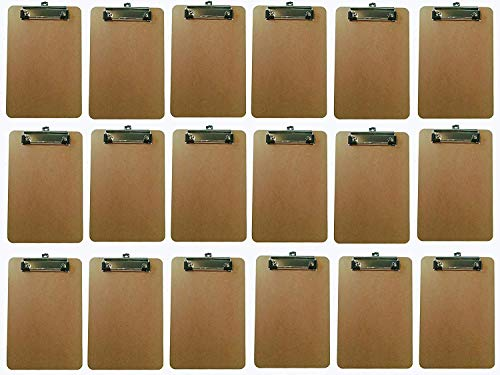 Apachi Mini Clipboard 18 Pack Memo Size clipboard (6