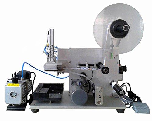 Etiquetadora semiautomática de superficie neumática plana para máquina de etiquetado LT-60