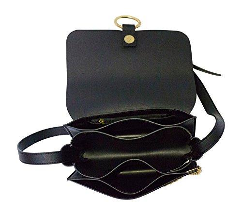 Noir de sac Loisirs School Ladies Bureau dos Satchel bandoulière cuir travail femmes embrayage Crossbody Élégant à bandoulière en Kronya des à Sac main 0qBgg