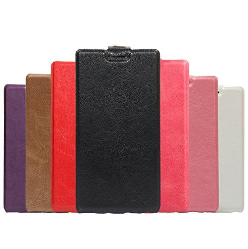 Funda Libro para Doogee Y300, Manyip Suave PU Leather Cuero Con Flip Cover, Cierre Magnético, Función de Soporte,Billetera Case con Tapa para Tarjetas D