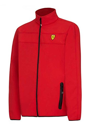 Ferrari Red Softshell Jacket - Jacket Ferrari Men For