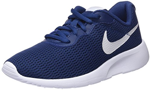 Nike Tanjun GS, Zapatillas de Running Para Niños Azul (Navy/Vast Grey/White 403)