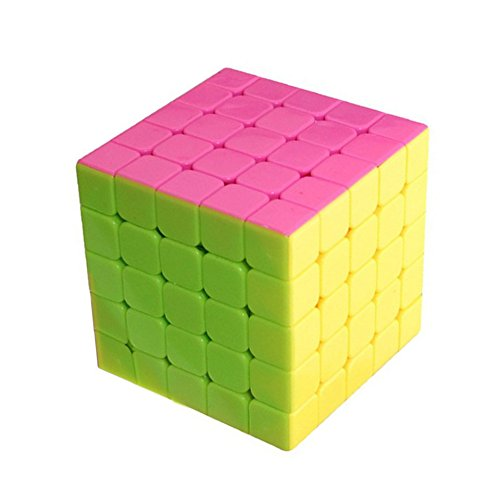 Amazing Smart Cube,Baynne 5x5 Magic Speed Cube,Anti Stress for Anti-Anxiety Adults Kids,Best High Speed Puzzle Toy Turns Quicker and More Precisely
