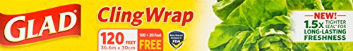 Glad Cling Wrap 100 Pack product image