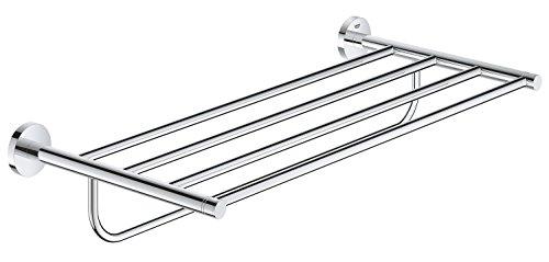 Train Bath Rack - Essentials 22 In. Multi-Towel Rack