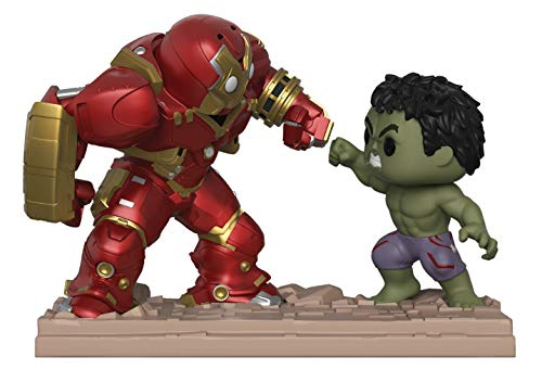 Funko - Figura de Marvel-Movie Moments-Hulkbuster Vs Hulk, Multicolor, 31269