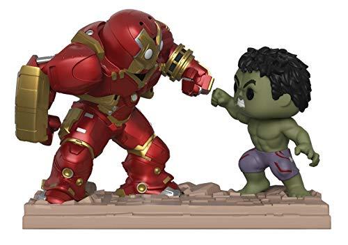 Funko - Figura de Marvel-Movie Moments-Hulkbuster Vs Hulk, Multicolor, 31269