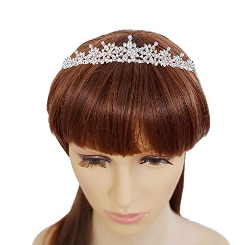 Rhinestone Crystal Tiaras and Crowns Headband For Women Birthday Pageant Wedding Prom Princess Crown ()