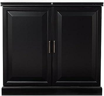 Amazon Com Home Decorators Collection Jamison Concealed Bar 37 Hx40 Wx19 D Black Furniture Decor