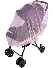Baby Kids Stroller Pushchair Carrycots Insect Netting Buggy Safe Protection Mesh Cover - No Harmful Chemicals