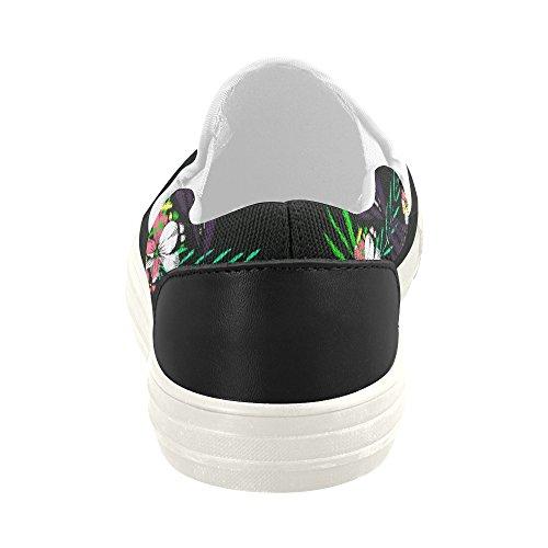 D-story Anpassade Sneaker Kvinna Slip-on Tygskor Mullticolored23