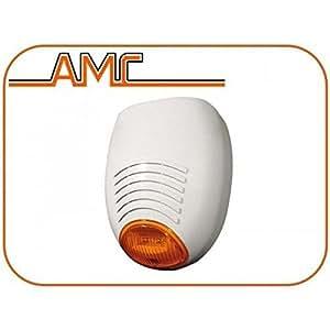 SR-136 AMC ELECTRÓNICO LED de alarma de ladrón sirena exterior