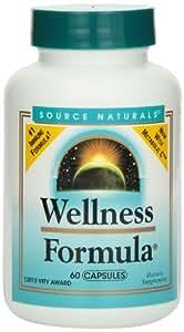Source Naturals Wellness Formula, Herbal Defense Complex, 60 Capsules