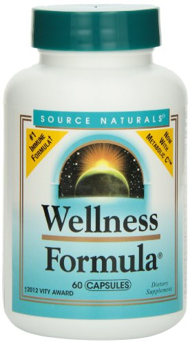 Immune Defense (Source Naturals Wellness Formula, Herbal Defense Complex, 60 Capsules)