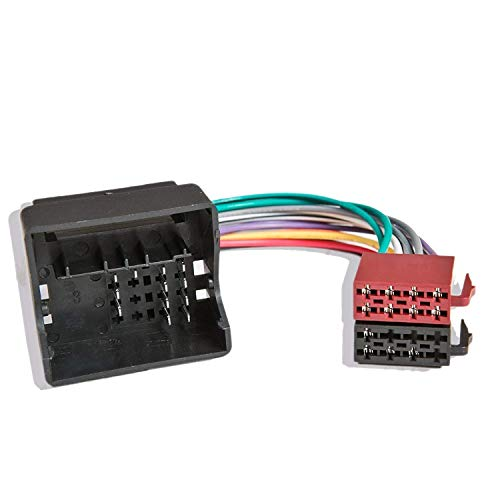 Inex Fits Ford Transit Quadlock Radio Wiring ISO Harness Headunit Connector Loom:
