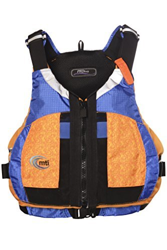 MTI Adventurewear女子PFDiva Life Jacket with adjust-a-bustシステム [並行輸入品]   B078YS9K1H