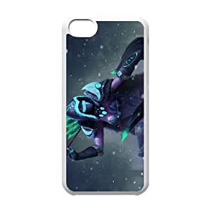 iPhone 5c Cell Phone Case White Defense Of The Ancients Dota 2 DROW RANGER 005 LWY3563903KSL