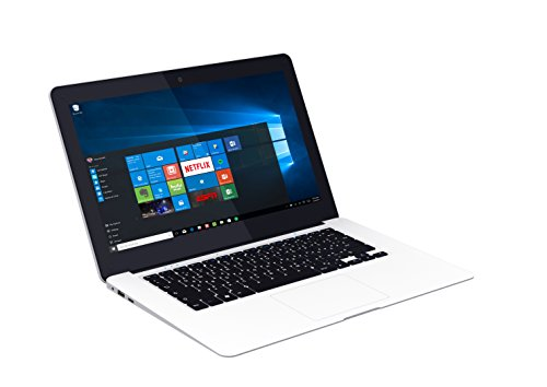chiliGREEN C14W Mobilitas Notebook 2 GB weiß