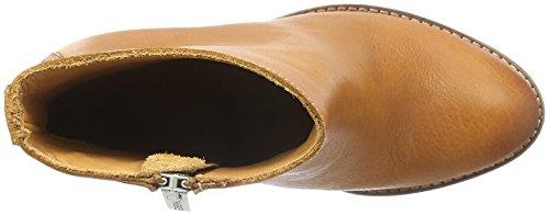 Shabbies Amsterdam 13cm Zipbooty 9cm Heel Leather Sole Lean, Zapatillas de Estar por Casa para Mujer Marrón - Braun (curry)