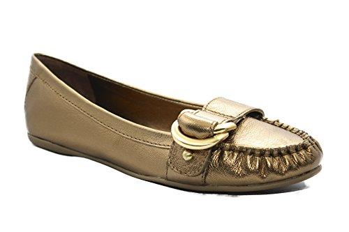 womens-saks-fifth-avenue-bronze-metallic-tumbled-leather-flat-slip-on-womens-8