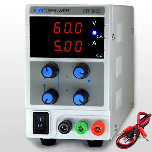 Lab Grade dc variable power supply 60v 5a skytoppower