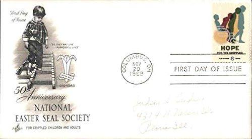 50th Anniversary National Easter Seal Society Original