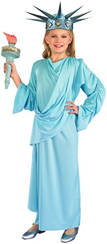 Forum Novelties Lil' Miss Liberty Child Costume, Medium