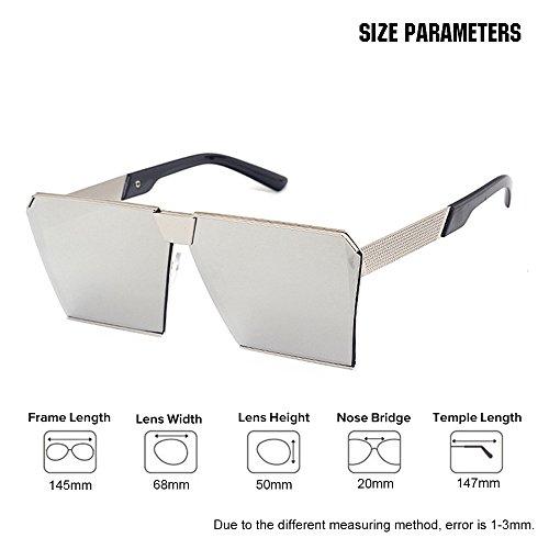 high quality goggles  VeBrellen Unisex Gothic Oversized Sunglasses Square Retro Eyewear ...