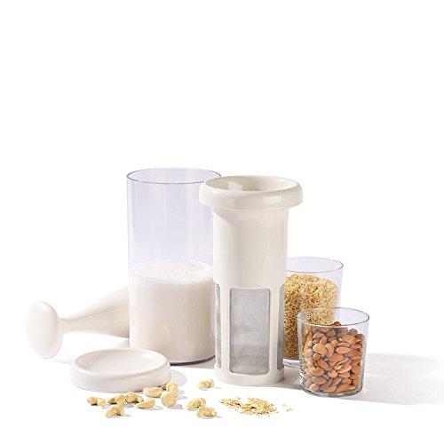 Veggiefino (Vegafino, ChufaMix) Nuss- und Sojamilchbereiter Veggie Drinks Maker für vegane Milch, Reismilch, Mandelmilch, Sojamilch, Hafermilch etc.