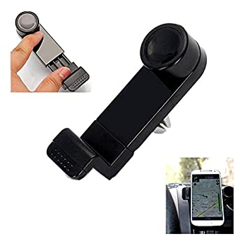Fologar Soporte Universal para Rejilla de Ventilacion de Coche para Movil Smartphone PDA MP4 GPS: Amazon.es: Electrónica