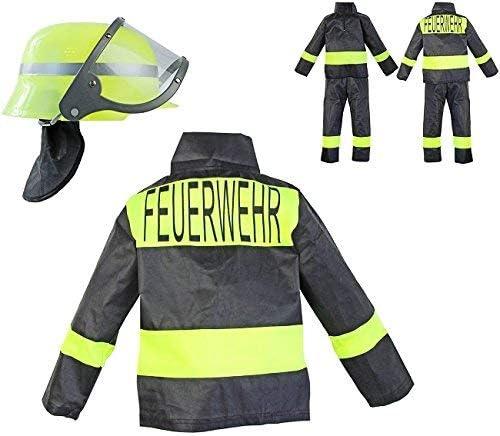 Nerd Clear - Disfraz de bomberos para niños (3 piezas: casco ...