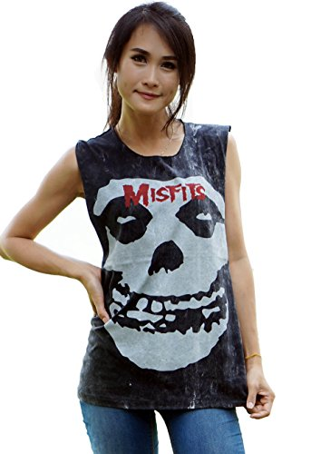 Misfits Band Shirt - Bkksnow The Misfits Heavy Metal Punk Rock Band Black Tank Top Shirt