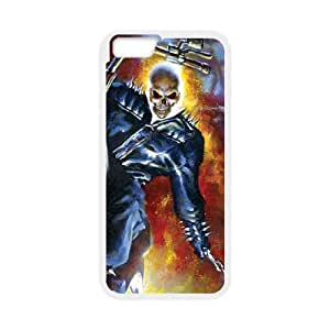 iPhone 6 Plus 5.5 Inch Cell Phone Case White Jonathan Blaze The Ghost Rider I2O5JG