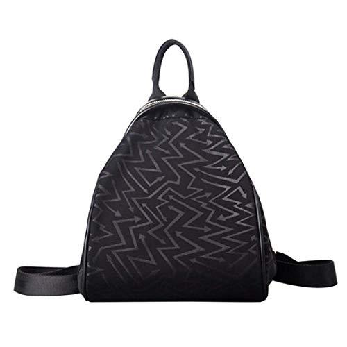 SPFBAG Women's Backpack Creative Jacquard Leather Bag Korean Fashion Shell Women's Bag Zipper Weaving Bag - Jacquard Messenger