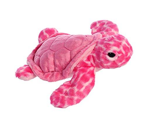 - Aurora World Destination Nation Plush Turtle, Pink