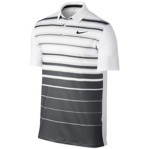Blanco Blanco white Courtes Polo Homme Homme Fade Mobility Anthracite Manches Stripe White Nike 0UOq8
