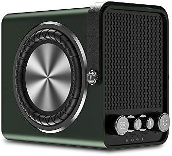 60W Bluetooth Speaker (100dB Loud), ABRAMTEK M8 Transportable Wi-fi Retro Speaker with Bass Enhance, Microphone Enter, USB Port, TWS for House Outside