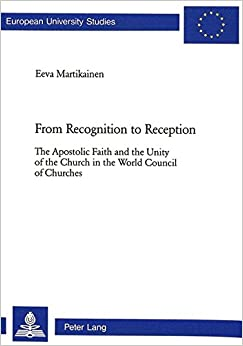 From Recognition to Reception (European University studies: Series XXIII)