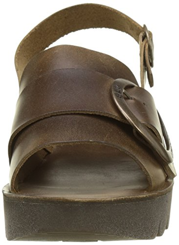 Camel Toe Open Brown Fly Yidi190fly Sandals London WoMen twq0qAI
