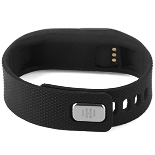 SURMOS Smart Sport Bracelet TW64 Smartband Wristband Fitness Tracker Bluetooth 4.0 Time Display Flexible Watch Bracelet (Black)