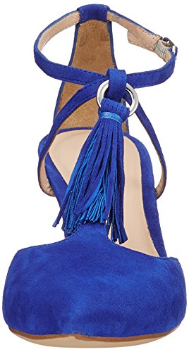 Unisa Women's Tingo_ks Closed Toe Sandals Blue (Sapphire Sapphire) vgNwS5Hlb