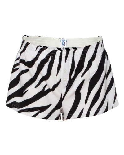 Boxercraft Women's Cotton Short Boxer - Medium - Zebra