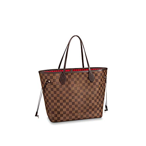 Louis Vuitton Neverfull MM Damier Ebene Bags Handbags Purse (Cherry)